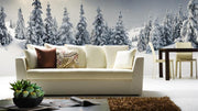 Majestic Winter Panorama Wall Mural-Landscapes & Nature,Panoramic-Eazywallz