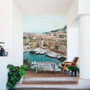 Monaco City Wall Mural-Cityscapes-Eazywallz