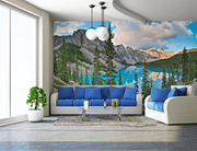 Moraine Lake Wall Mural-Landscapes & Nature-Eazywallz