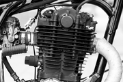 Motorcycle Engine Wall Mural-Transportation-Eazywallz