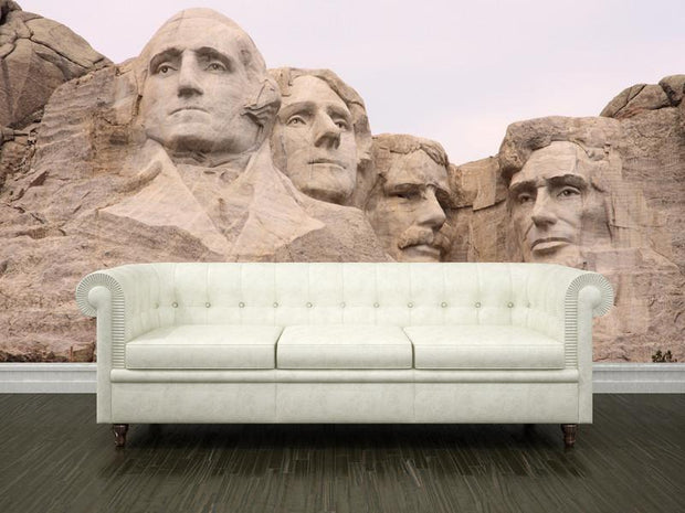 Mount Rushmore, USA Wall Mural-Buildings & Landmarks-Eazywallz