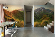 Mountain sunrise panorama in Dolomites Passo Giau Wall Mural-Landscapes & Nature,Panoramic-Eazywallz