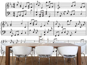 Music sheet Wall Mural-Arts-Eazywallz