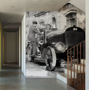 New York City Vintage Fire Engine Wall Mural-Vintage-Eazywallz