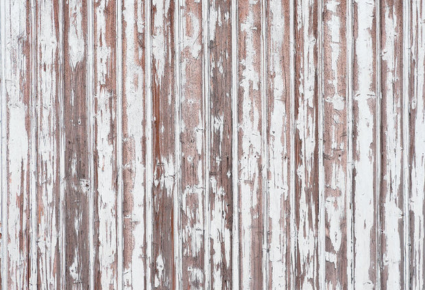 Old Painted Wooden Planks Wall Mural-Textures-Eazywallz