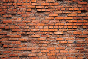 Old red brick wall Wall Mural-Textures-Eazywallz