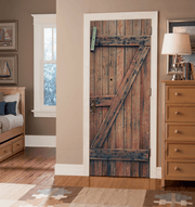 Old Wooden Door Mural-Textures-Eazywallz