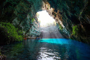 Open Cave Oasis Wall Mural-Landscapes & Nature-Eazywallz