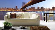 Panoramic Manhattan Bridge at Dawn Wall Mural-Buildings & Landmarks,Cityscapes,Panoramic,Featured Category-Eazywallz