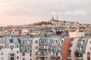 Paris Rooftops Wall Mural-Buildings & Landmarks,Cityscapes-Eazywallz