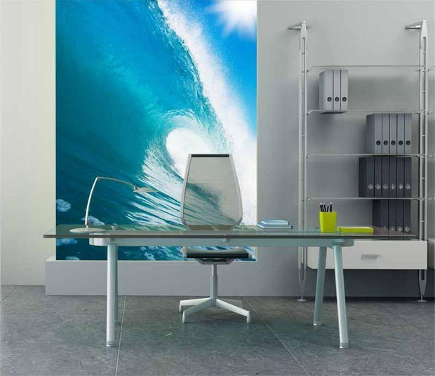 Perfect wave Wall Mural-Landscapes & Nature,Sports,Tropical & Beach-Eazywallz