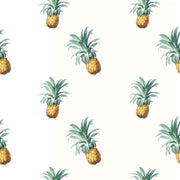 Pineapple Heaven Removable Wallpaper-wallpaper-Eazywallz