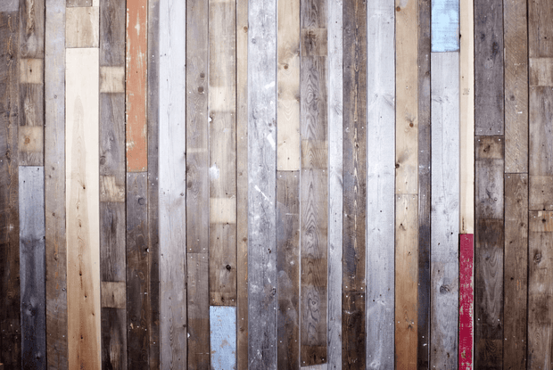 Reclaimed Wood Planks Wall Mural-Patterns-Eazywallz