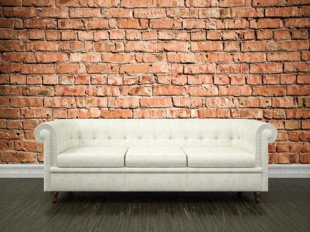 Red brick wall Wall Mural-Textures-Eazywallz