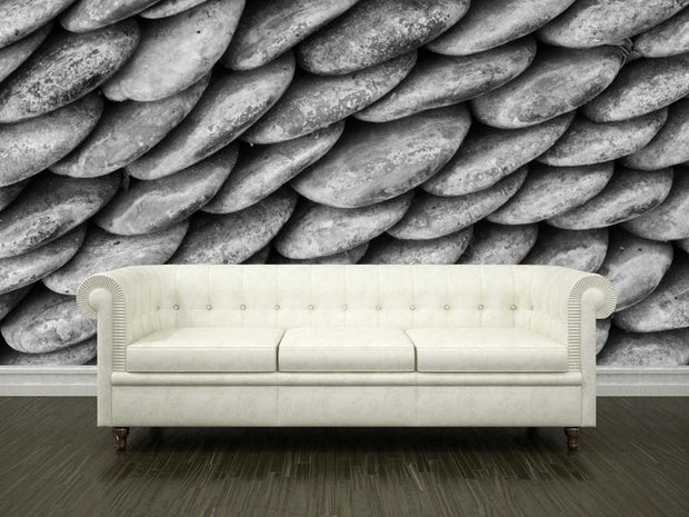 Round rocks Wall Mural-Macro,Textures-Eazywallz