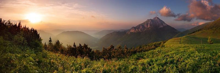 Slovakian Mountains Wall Mural-Landscapes & Nature,Panoramic-Eazywallz