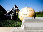 Soccer action Wall Mural-Sports-Eazywallz