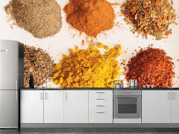 Spices Wall Mural-Food & Drink-Eazywallz
