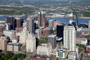 St. Louis Skyline Wall Mural-Cityscapes-Eazywallz