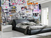 Street Posters Wall Mural-Abstract,Urban-Eazywallz
