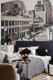 Streets of New York Wall Mural-Buildings & Landmarks,Urban,Featured Category-Eazywallz