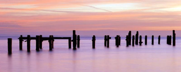 Sunrise in Dorset, England Wall Mural-Landscapes & Nature,Panoramic-Eazywallz