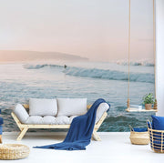 Sunrise Surf Session Wall Mural-Tropical & Beach-Eazywallz