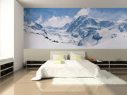 Swiss Alps Mountain Range Wall Mural-Landscapes & Nature,Panoramic-Eazywallz