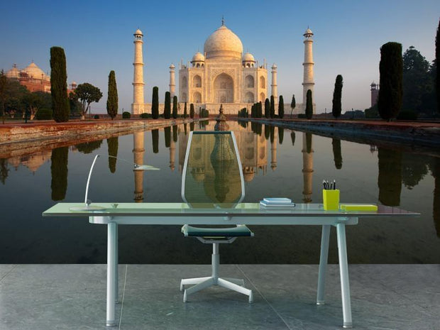 Taj Mahal, India Wall Mural-Buildings & Landmarks-Eazywallz