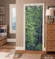 Tall Forest Door Mural-Landscapes & Nature-Eazywallz