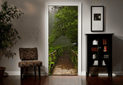 Tarzan Jungle Door Mural-Landscapes & Nature-Eazywallz
