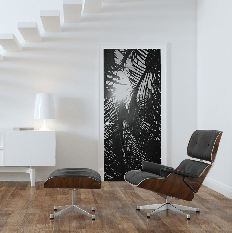 Under the Jungle Door Mural-Landscapes & Nature-Eazywallz