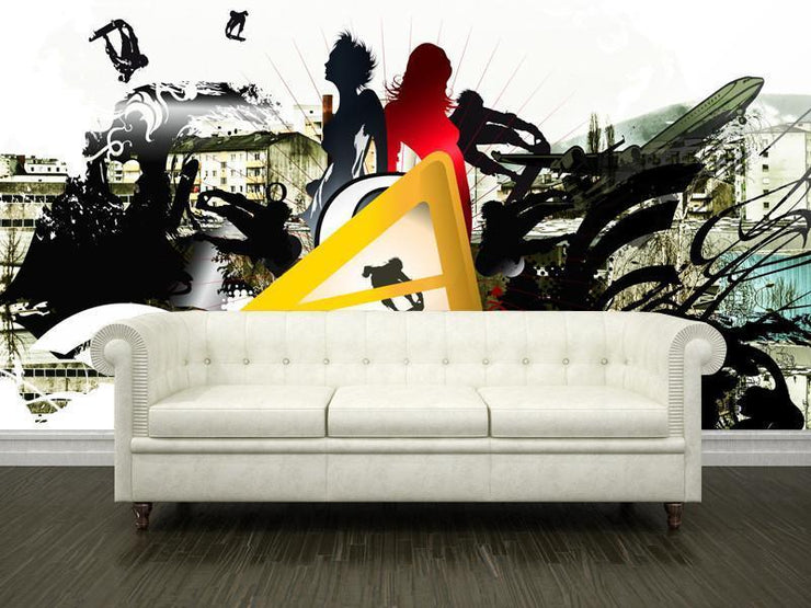 Urban lifestyle Wall Mural-Urban,Modern Graphics-Eazywallz