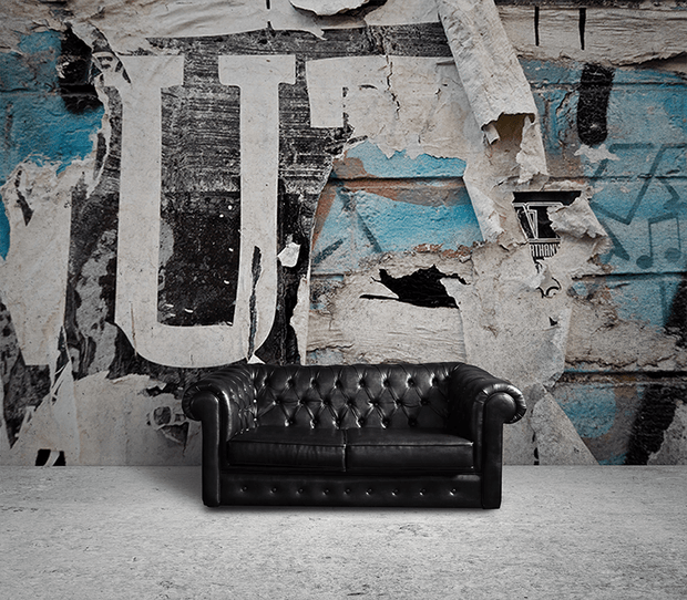 Urban Wall Close up Wall Mural-Urban,Textures,Modern Graphics-Eazywallz