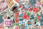 US Vintage Post Stamp Collection Wall Mural-Vintage-Eazywallz