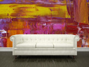 Vibrant painting Mural-Abstract-Eazywallz