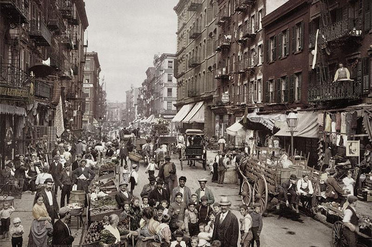Vintage 1900 New York City 5 Boroughs-Cityscapes-Eazywallz