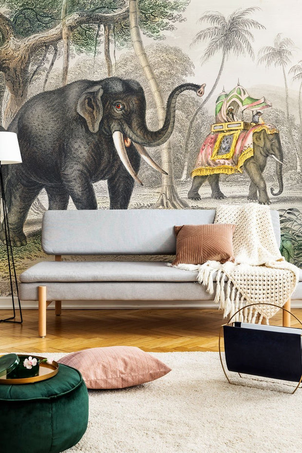 Vintage Animated Nature Wall Mural-vintage-Eazywallz
