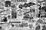 Vintage Broadway Posters Wall Mural-Urban,Textures,Modern Graphics-Eazywallz