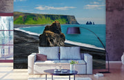 Volcano Beach Wall Mural-Tropical & Beach-Eazywallz