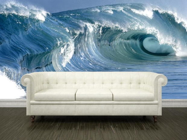 Wave Wall Mural-Landscapes & Nature,Sports-Eazywallz