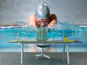 Woman swimming Wall Mural-Sports-Eazywallz