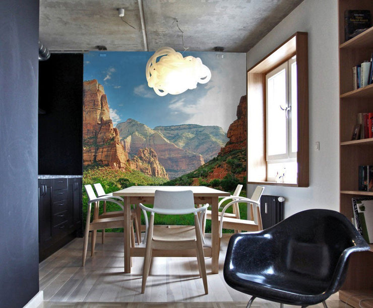 Zion Canyon Wall Mural-Landscapes & Nature-Eazywallz