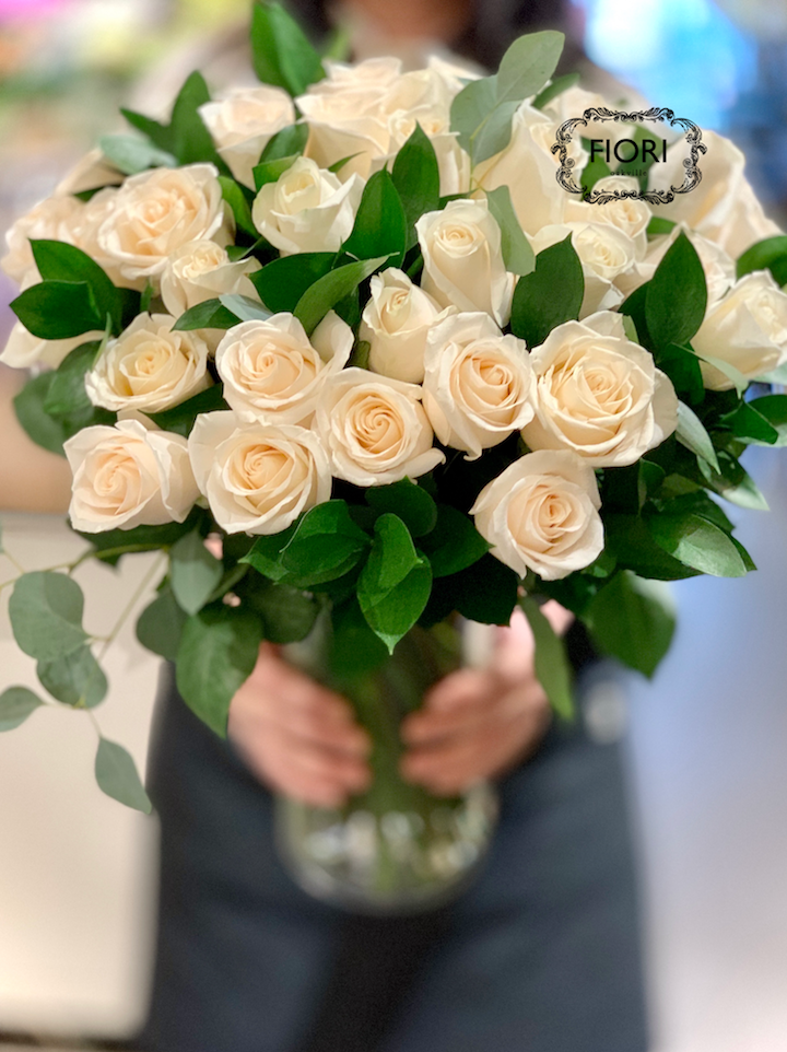 Ultimate Love - 3 DOZEN WHITE ROSES