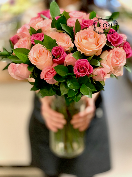 Valentine's Day Ultimate Love - 3 DOZEN PINK ROSES