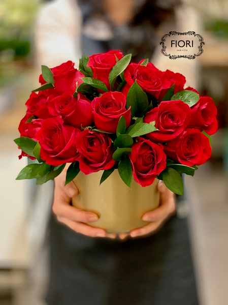 Valentine's Day Red Rose Abundance