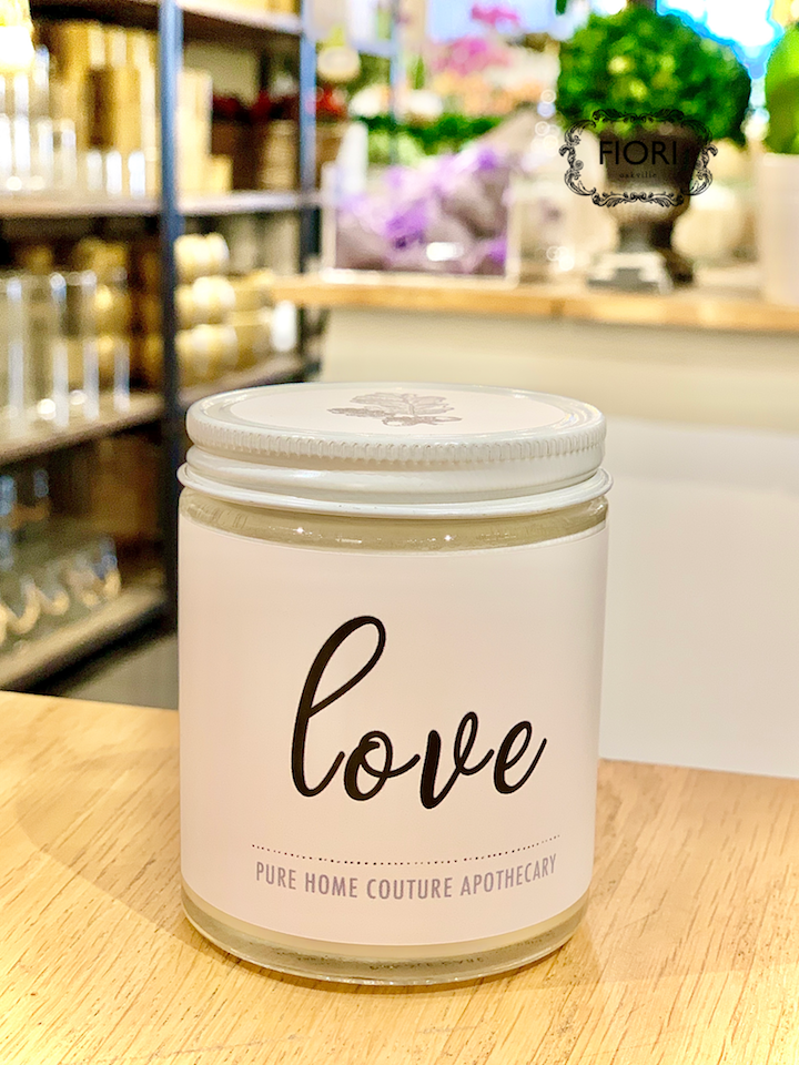 Scented Candle - LOVE-Rose Garden