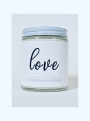 LOVE - Rose Garden Scented Candle