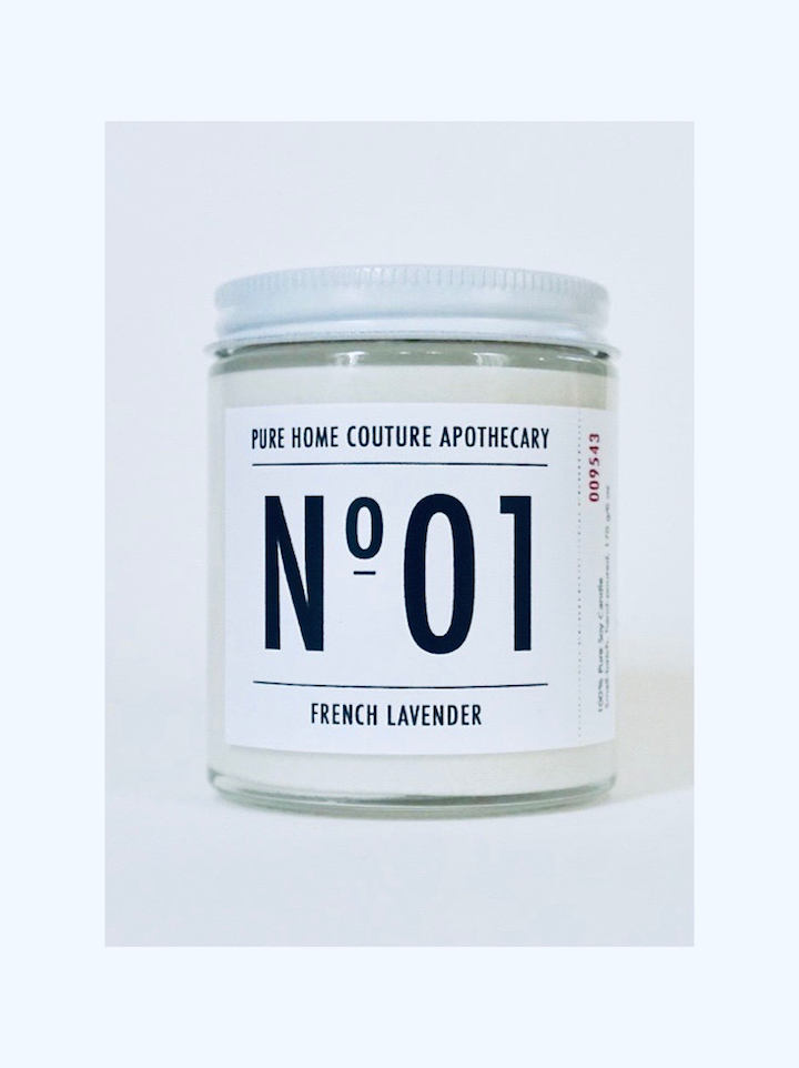 Nº 01 Scented Candle - Lavender