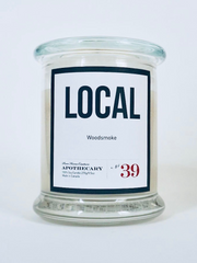 Scented Candle - LOCAL label